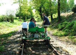 Great family day out on the Velo Rail
